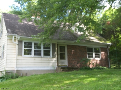 Bethlehem Twp. Single Family Home For Sale: 74 Staats Rd.