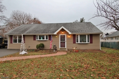 Piscataway Twp. NJ Single Family Home For Sale: $299,900
