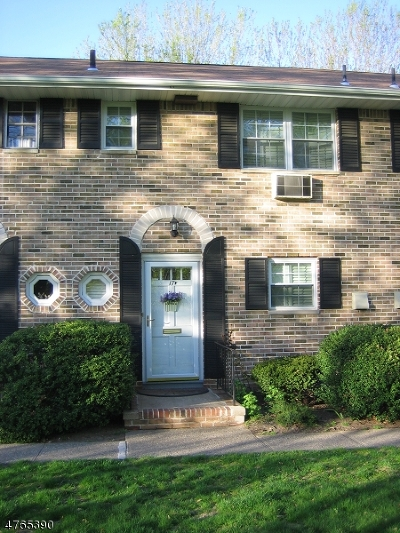 Morristown Town Condo/Townhouse For Sale: 320 South St, 17-F #F