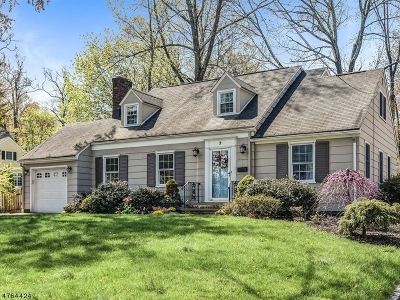 Chatham Boro Single Family Home For Sale: 7 Inwood Rd