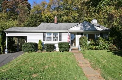 Denville Twp. Single Family Home For Sale: 60 Parks Rd