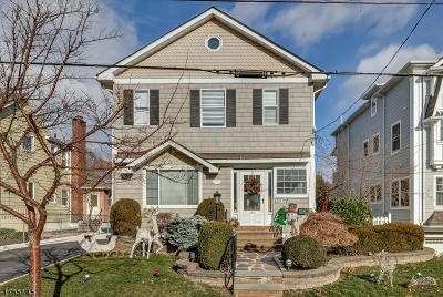 Essex County, Morris County, Union County Multi Family Home For Sale: 37 Ocean St #2