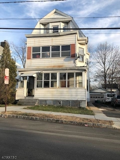 West Orange Twp. Multi Family Home For Sale: 156 High St