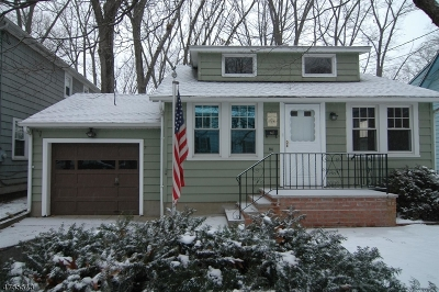 Parsippany Single Family Home For Sale: 56 Highwood Rd