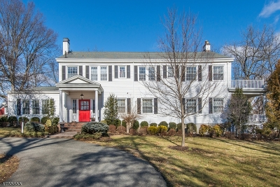 Florham Park Boro Single Family Home For Sale: 244 Brooklake Rd
