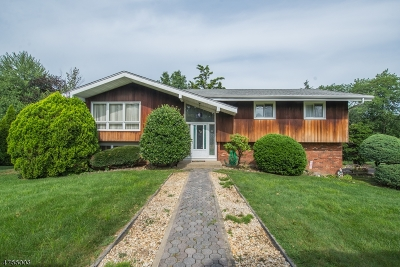 Parsippany-Troy Hills Twp. Single Family Home For Sale: 70 N Beverwyck Rd