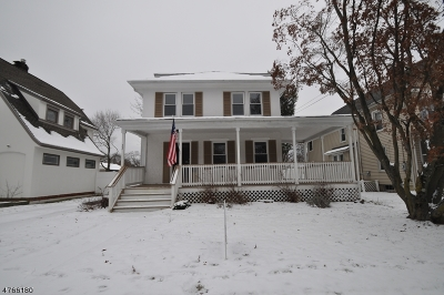Morris Plains Boro Single Family Home Active Under Contract: 22 Franklin Pl