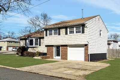 Rahway City Single Family Home For Sale: 713 Sycamore St