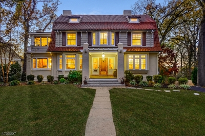 Summit Single Family Home For Sale: 67 Oak Ridge Ave