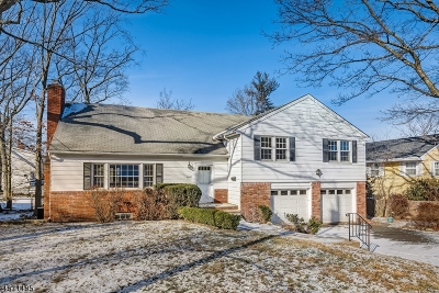 West Orange Twp. Single Family Home Active Under Contract: 9 Edgewood Ave