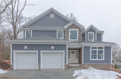 Berkeley Heights Single Family Home For Sale: 12 Old Farm Rd