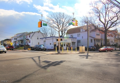 Kearny Town Commercial For Sale: 706-708 Elm St #1