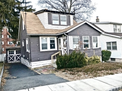 West Orange Twp. Single Family Home For Sale: 21 Park Dr N