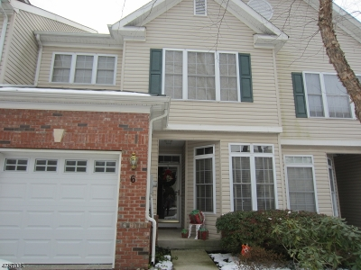 Bridgewater Twp. Condo/Townhouse For Sale: 6 Stevens Ln