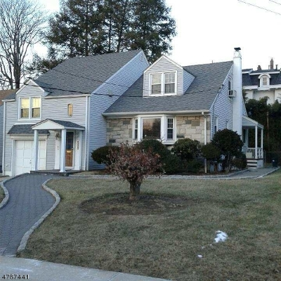 Passaic City Single Family Home For Sale: 232 Lafayette Ave