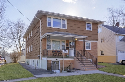 Woodbridge Twp. Multi Family Home For Sale: 649 Inman Ave