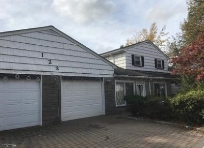 Roselle Boro Single Family Home For Sale: 123 W Highland Pkwy