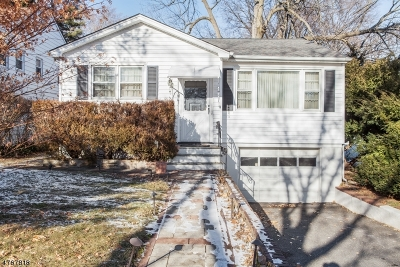Maplewood Twp. Single Family Home For Sale: 189 Parker Ave