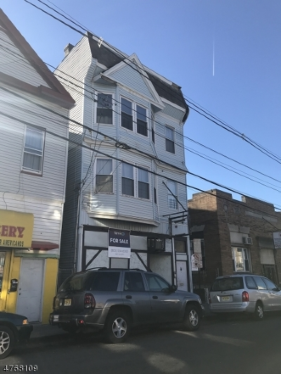 Paterson City Multi Family Home For Sale: 102 Park Ave