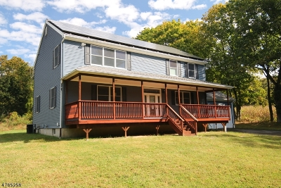 Glen Gardner Boro, Hampton Boro Single Family Home For Sale: 19 Smith St