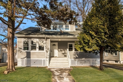 Rahway City Single Family Home For Sale: 106 E Hazelwood Ave