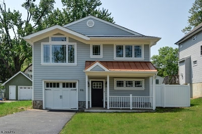 Westfield Town NJ Single Family Home For Sale: $799,000