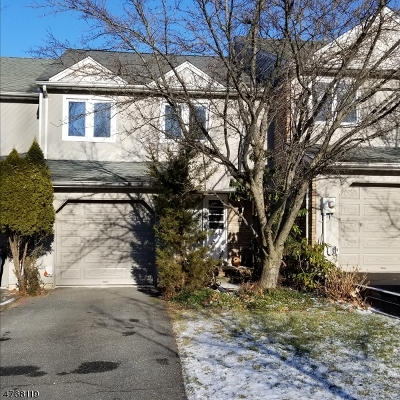 Parsippany-Troy Hills Twp. Condo/Townhouse For Sale: 18 Guilford Ct