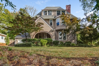 South Orange Village Twp. Single Family Home For Sale: 104 Scotland Rd