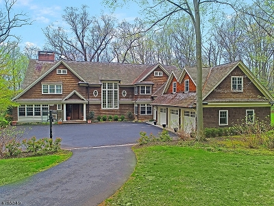 Harding Twp. Single Family Home For Sale: 203 Blue Mill Rd