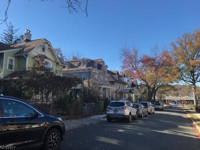 South Orange Village Twp. Single Family Home For Sale: 122 Milligan Pl