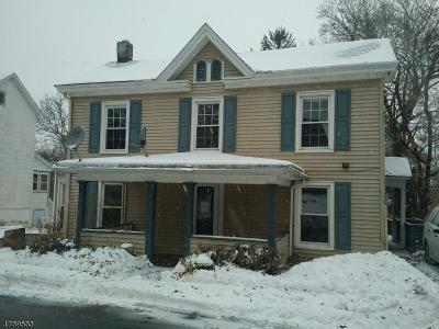 Glen Gardner Boro, Hampton Boro Single Family Home For Sale: 40 Wells Avenue