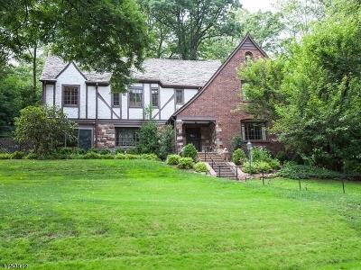 South Orange Village Twp. Single Family Home For Sale: 361 Harding Dr