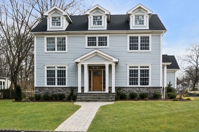 Westfield Town NJ Single Family Home For Sale: $1,350,000