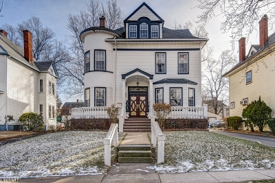 South Orange Village Twp. Single Family Home For Sale: 28 Fairview Ave