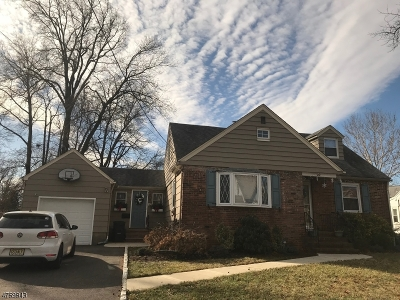 Cranford Twp. Single Family Home For Sale: 10 Blake Ave