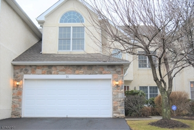 Bernards Twp. Condo/Townhouse For Sale: 20 Georgetown Ct