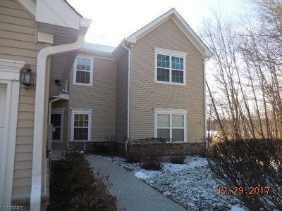 Roxbury Twp. Condo/Townhouse For Sale: 23 Pondside Dr