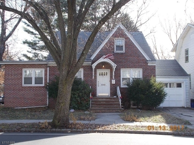 Maplewood Twp. Multi Family Home For Sale: 42-44 Van Ness Ter