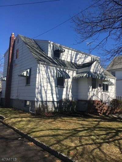 ROSELLE PARK Single Family Home For Sale: 141 Sheridan Ave