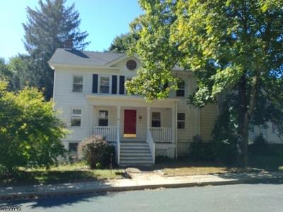 Glen Gardner Boro, Hampton Boro Single Family Home For Sale: 38 Main Street