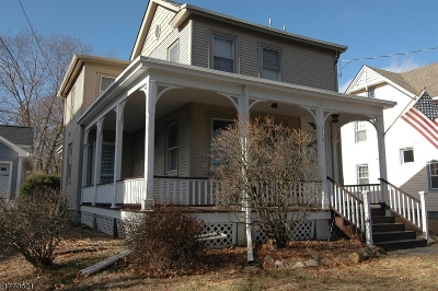 Boonton Town Single Family Home For Sale: 116 Lake Ave
