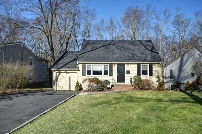 Florham Park Boro Single Family Home For Sale: 61 Beechwood Rd