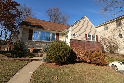 Nutley Twp. Single Family Home For Sale: 37 Forest Ave