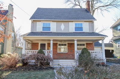 Maplewood Twp. Single Family Home For Sale: 22 Hoffman St