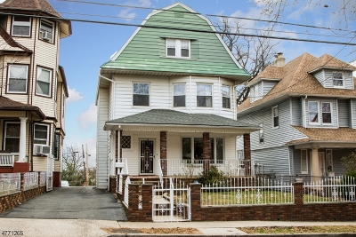 Newark City Single Family Home For Sale: 751 Clifton Ave