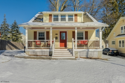 Livingston Single Family Home For Sale: 52 Lincoln Ave