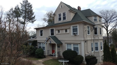 Passaic County Single Family Home For Sale: 1283 Valley Rd #5