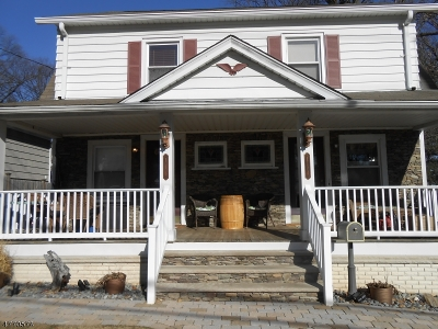 Passaic County Multi Family Home For Sale: 114 Woodlawn Ave