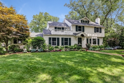 Chatham Boro Single Family Home For Sale: 32 Meadowbrook Rd