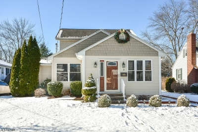 Morris County Single Family Home For Sale: 3 Cottage Pl